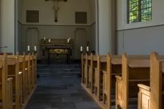 kapel binnen altaar