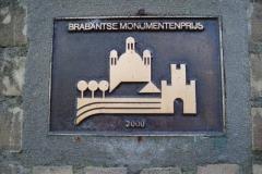 plaquette Brabantse monumentenprijs